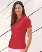 Women's Basic Polo Set-In Sleeve