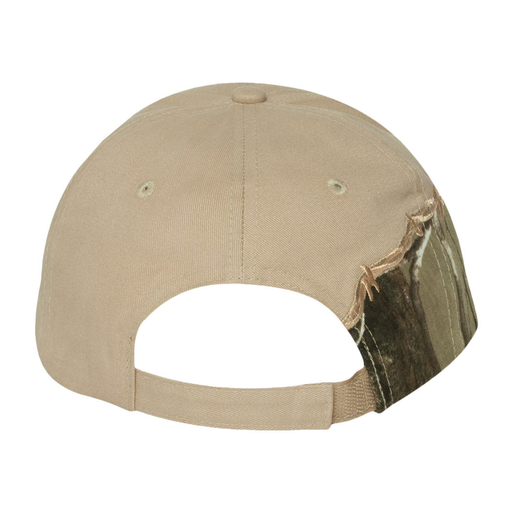 Licensed Camo Cap with Barbed Wire Embroidery Custom Embroidery ...
