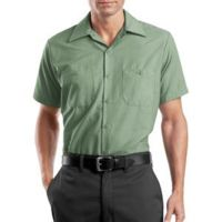 Long Size, Short Sleeve Industrial Work Shirt Thumbnail