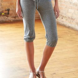 Women's Eco-Jersey Crop Pants Thumbnail
