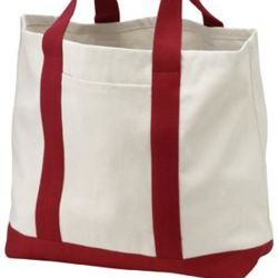 Two Tone Shopping Tote Thumbnail