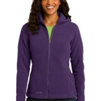 Ladies Hooded Full Zip Fleece Jacket Thumbnail