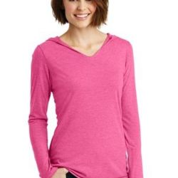 Made ® Ladies Perfect Tri ® Long Sleeve Hoodie Thumbnail