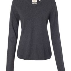 Vintage Women's Cotton Cashmere V-Neck Sweater Thumbnail