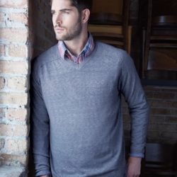 Vintage V-Neck Cotton Sweater Thumbnail