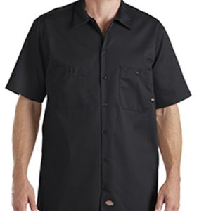 6 oz. Industrial Short-Sleeve Cotton Work Shirt Thumbnail