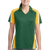 Ladies Tricolor Micropique Sport Wick ® Polo Thumbnail