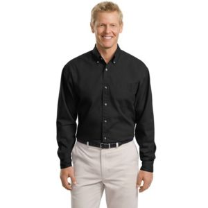 Tall Long Sleeve Twill Shirt Thumbnail