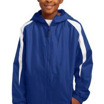 Youth Fleece Lined Colorblock Jacket Thumbnail