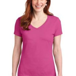 Ladies Nano T ® Cotton V Neck T Shirt Thumbnail