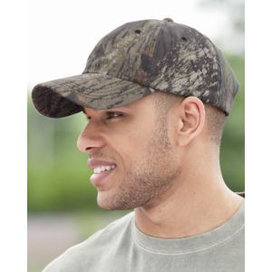 Garment-Washed Camo Cap Thumbnail