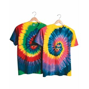 Multi-Color Spiral Short Sleeve T-Shirt Thumbnail