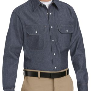 Deluxe Denim Long Sleeve Shirt Thumbnail