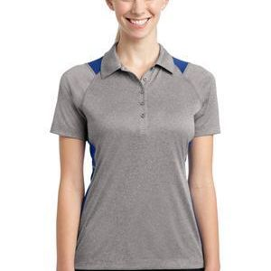 Ladies Heather Colorblock Contender ™ Polo Thumbnail