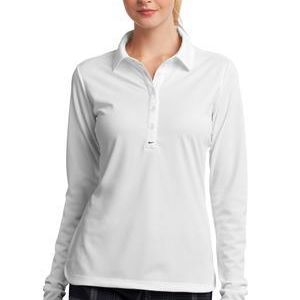 Ladies Long Sleeve Dri FIT Stretch Tech Polo Thumbnail