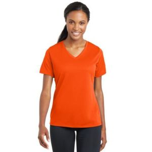 Ladies PosiCharge ® RacerMesh ® V Neck Tee Thumbnail