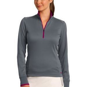 Ladies Dri FIT 1/2 Zip Cover Up Thumbnail