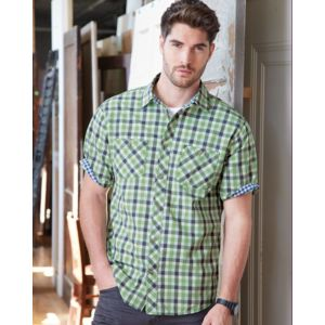 Vintage Plaid Short Sleeve Shirt Thumbnail