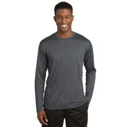 Long Sleeve Heather Contender ™ Tee Thumbnail