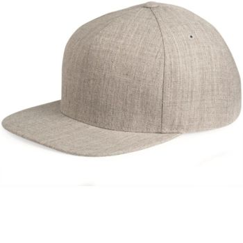 Five-Panel Wool Blend Snapback Cap Thumbnail
