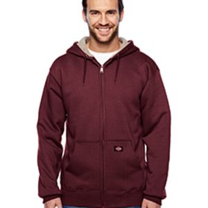 Men's 450 Gram Sherpa-Lined Fleece Hooded Jacket Thumbnail