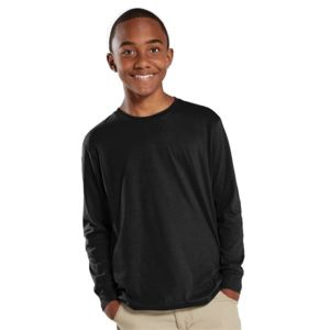 Fine Jersey Youth Long Sleeve Tee Thumbnail