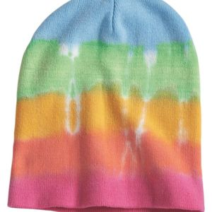 Tie-Dyed 12 Inch Knit Beanie Thumbnail