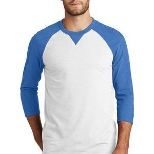 ® Sueded Cotton Blend 3/4 Sleeve Baseball Raglan Tee Thumbnail