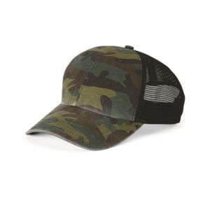 Camo Washed Trucker Cap Thumbnail
