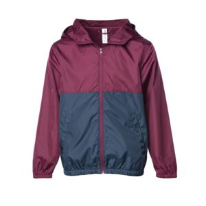 Youth Lightweight Windbreaker Zip Jacket Thumbnail