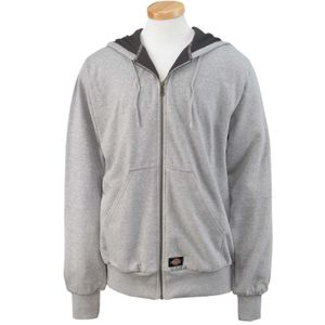 Men's 470 Gram Thermal-Lined Fleece Hooded Jacket Thumbnail