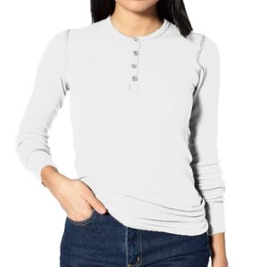 Unisex Baby Thermal Long Sleeve Henley Thumbnail