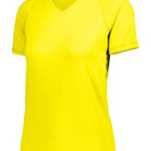 Ladies' Dry-Excel™ True Hue Technology™ Swift Wicking V-Neck Training T-Shirt Thumbnail