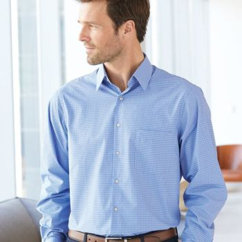 Broadcloth Point Collar Check Shirt Thumbnail