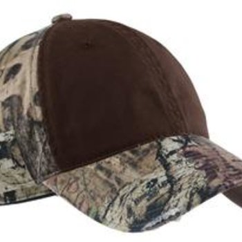 Camo Cap with Contrast Front Panel Thumbnail