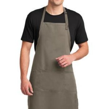 Easy Care Extra Long Bib Apron with Stain Release Thumbnail