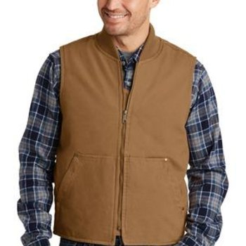 Washed Duck Cloth Vest Thumbnail