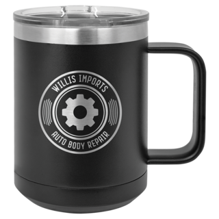 15oz Stainless Steel Coffee Tumbler