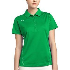 Golf Ladies Dri FIT Sport Swoosh Pique Polo Thumbnail