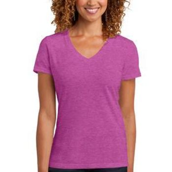 ™ Ladies Perfect Blend ® V Neck Tee Thumbnail