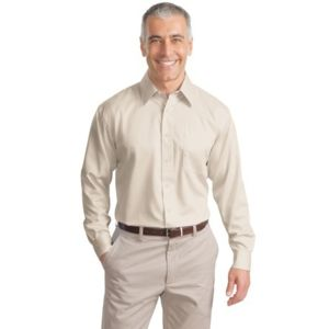 Long Sleeve Non Iron Twill Shirt Thumbnail