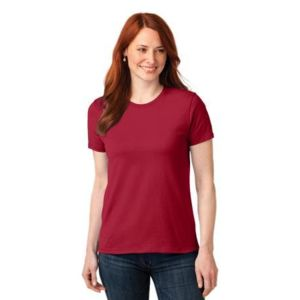 Ladies 50/50 Cotton/Poly T Shirt Thumbnail