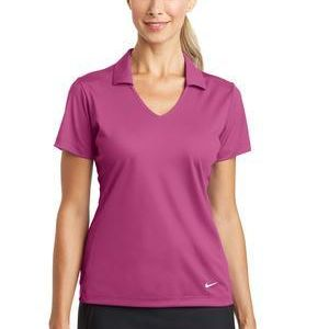 Golf Ladies Dri FIT Vertical Mesh Polo Thumbnail