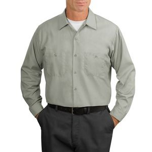 Long Sleeve Industrial Work Shirt Thumbnail