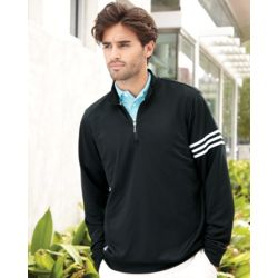 Golf ClimaLite 3-Stripes French Terry Quarter-Zip Pullover Thumbnail