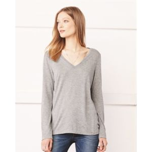 Women's Flowy Long Sleeve Tee Thumbnail