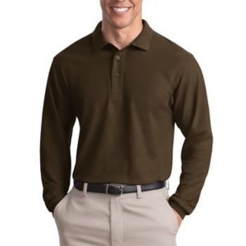 Silk Touch™ Long Sleeve Polo Thumbnail